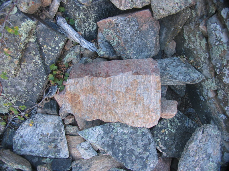Rock Climbing Photo: Granite Gneiss of the Laramie River Canyon Rocks
