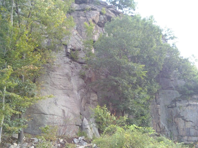 Rock Climbing Photo: '09 before