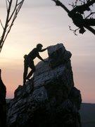Rock Climbing Photo: Little Limestone Tower in Slovakia.