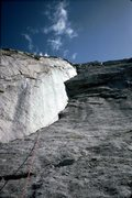 Rock Climbing Photo: A 1983 ascent of Central Corner