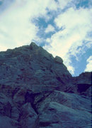 Rock Climbing Photo: Approaching the route, August 1980, Sacagawea, W F...