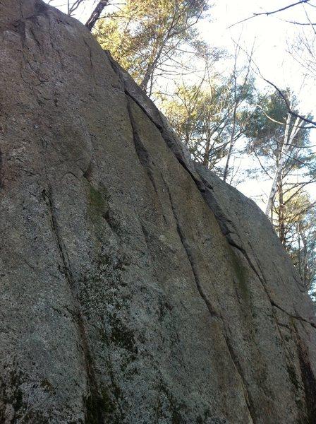 Rock Climbing Photo: Seams Thin.