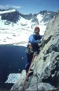 Rock Climbing Photo: High on the west ridge of Musembeah, 1986