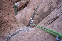 Rock Climbing Photo: Firestone Slot Canyon Adventure