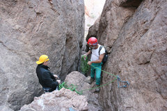 Rock Climbing Photo: Firestone Slot Canyon Adventure.  Approximately 3....