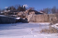 Rock Climbing Photo: Evandale Quarry
