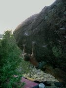 Rock Climbing Photo: clutch kneebar/crimp action