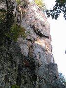 Rock Climbing Photo: Trundlasaurus Wall  Bushman(5.11) Trundlasaurus(5....