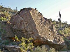 Rock Climbing Photo: Way Upper Boulder 8 on the Topo.