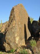 Rock Climbing Photo: Mono Face