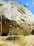 Rock Climbing Photo: Shark Tooth, Pima Canyon Bouldering