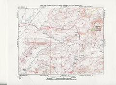 Rock Climbing Photo: Map Showing Approach to Douthitt Mountain