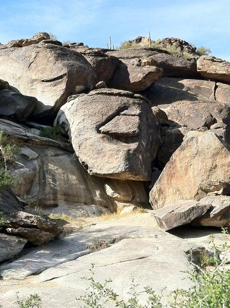 Rock Climbing Photo: Amphitheatre, Pima Canyon, South Mountain