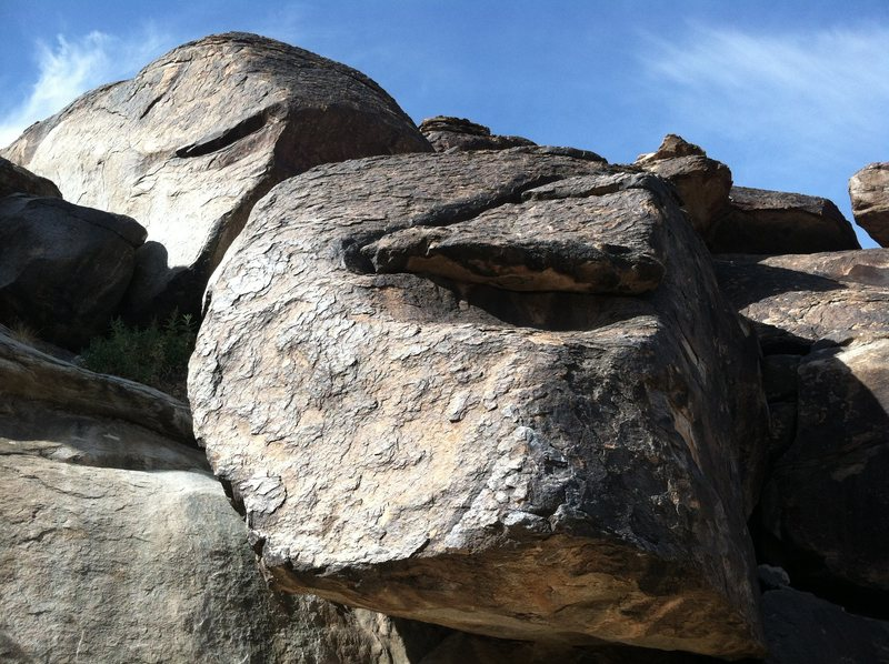 Rock Climbing Photo: Boulders abound in Pima Canyon - South Mountain