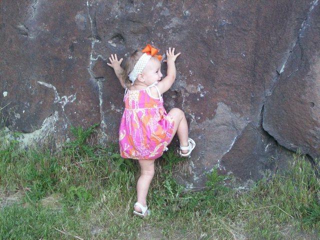 Rock Climbing Photo: Dierkes Lake  Twin Falls, Idaho