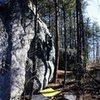 Dixon Boulders<br> <br> Crowders Mountain State Park, North Carolina