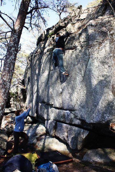 Rock Climbing Photo: Dixon Boulders  Crowders Mountain State Park, Nort...