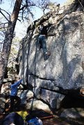 Rock Climbing Photo: Dixon Boulders  Crowders Mountain State Park, Nort...