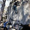 Dixon Boulders<br> <br> Crowders Mountain State Park, North Carolina