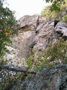 Rock Climbing Photo: Trundlasaurus Wall  Christmas Present(5.8) trad  C...