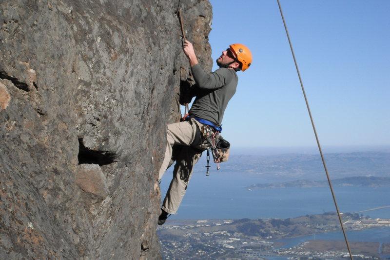Rock Climbing Photo: Mt. Tam