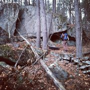 Rock Climbing Photo: More rock than you would think...