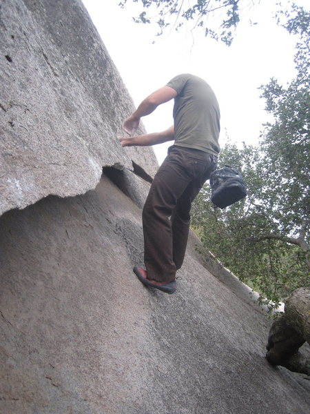 Rock Climbing Photo: nds on undercover