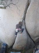 Rock Climbing Photo: starting left side