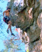 Rock Climbing Photo: Plane Above Your Head Wall  Unknown(Left of Plane ...
