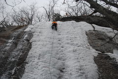 Rock Climbing Photo: Leading on 2/11/2012