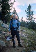 Rock Climbing Photo: Hiking in the Wind River Range