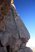 Rock Climbing Photo: This a shot of the upper half of To Bee or Not to ...