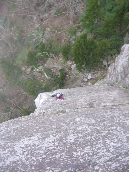 Rock Climbing Photo: Board walk, Ship Rock, NC