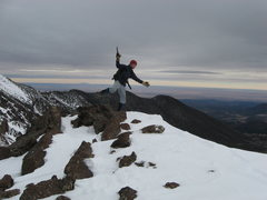 Rock Climbing Photo: Luke on Agassiz, Flagstaff