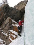 Rock Climbing Photo: North Side Flow, Moffat Tunnel.