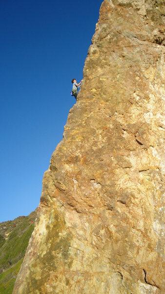 Rock Climbing Photo: a sweet arete