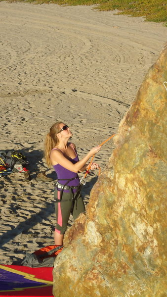 Rock Climbing Photo: climbing is better with a beautiful belay