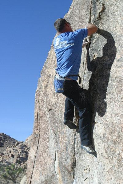 Rock Climbing Photo: Classic Thin Crack