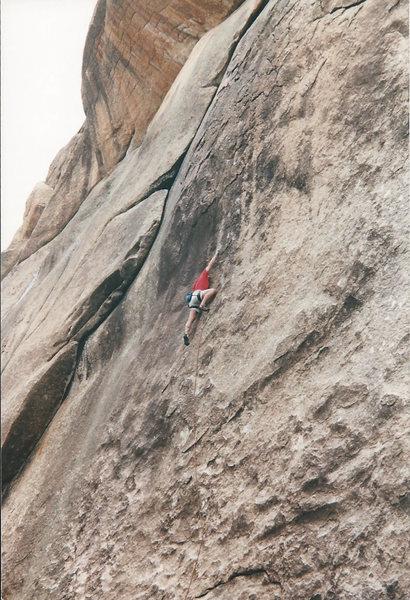 Rock Climbing Photo: Blankety Blank....