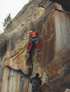 Rock Climbing Photo: Founding Father of Thunder Ridge - Steve Cheyney. ...