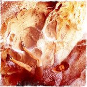 Rock Climbing Photo: Caveman - V7 Joshua Tree, CA