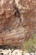 Rock Climbing Photo: Clean and Jerk - 10c Joshua Tree, CA