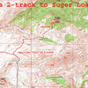 The 2-track to Sugar Loaf