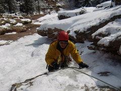 Rock Climbing Photo: Mike C. Silk Road. Feb 12,  2012.