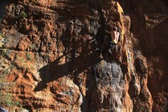 Rock Climbing Photo: EFR proving he's not a shadow of his former self.