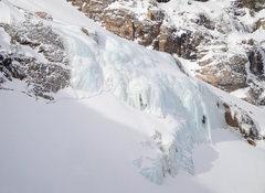 Rock Climbing Photo: Grace Falls.