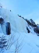 Rock Climbing Photo: The Steep ice of Peer Pressure...