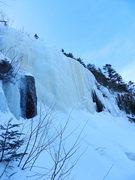 Rock Climbing Photo: The Steep ice of Peer Pressure...