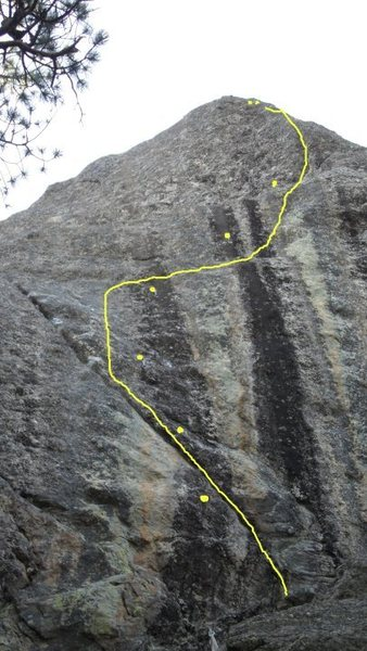 Rock Climbing Photo: THE BETA