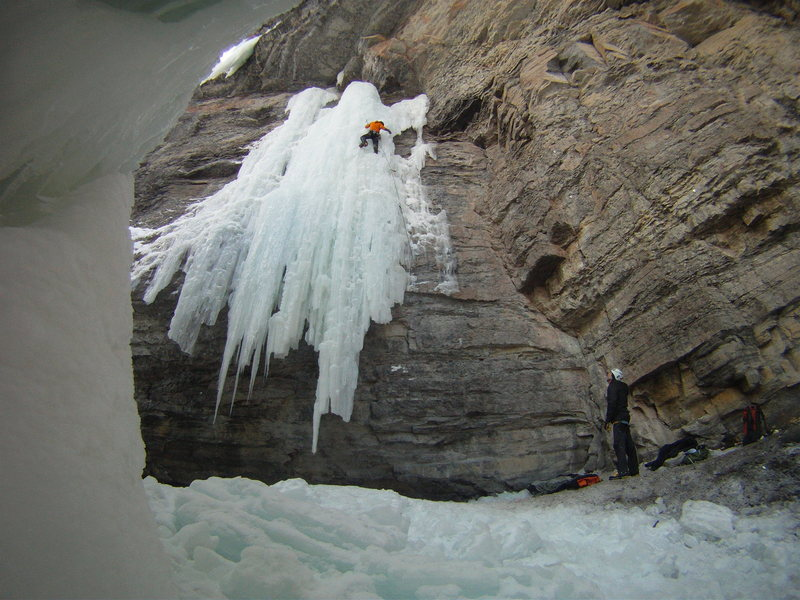 "Rock Climbing Photo: Starting on Frigid, finishing 7th ""Frigid Ten..."